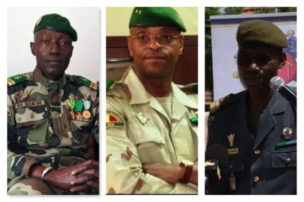 See Photos As Faces Of Mali Coup Leaders Is Unveiled