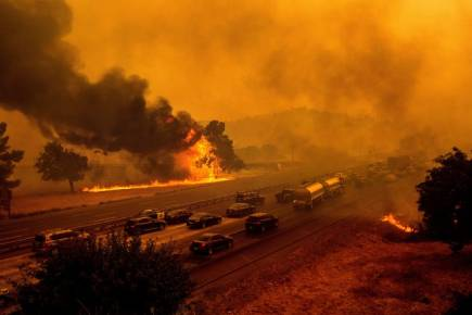 Wildfires Hit California, Six Dead, As Gov Gavin Newsom Calls Wildfires 'Deadly Moment'