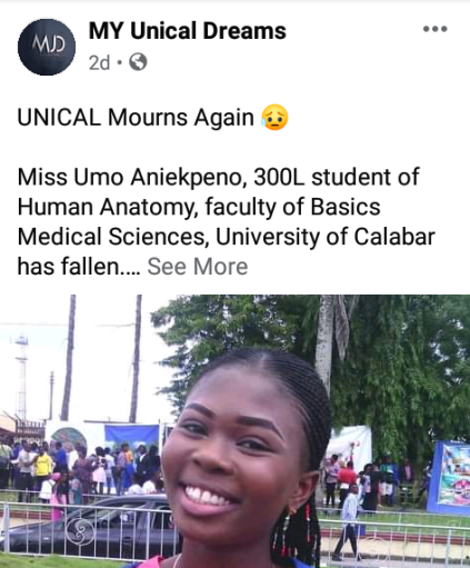 300 Level UNICAL Student Dies As Generator Explodes In Calabar