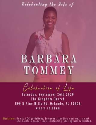 Family Announces Burial Of Woman Barbara Tommey Shot Dead By Her Ghanaian Pastor Husband