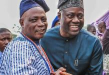 Gov Seyi Makinde Celebrates His Father Baba Rashidi Ladoja At 76