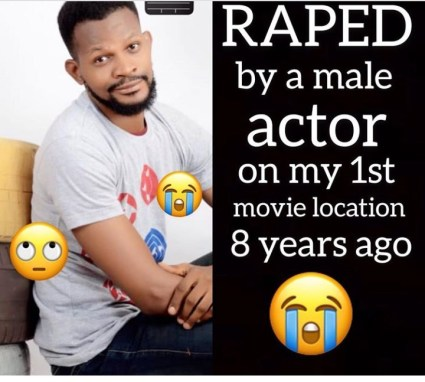 Homosexuality Rocks Nollywood As Uche Maduagwu Says He Was Once Raped By A Nollywood Actor