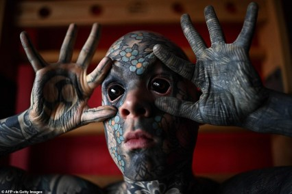 Teacher Who Covered His Body In Tattoos Banned From School