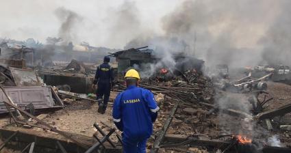 Gas Explosion Rocks Lagos State