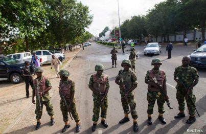 Nigerian Army Invades Okoma In Rivers State, Burn Houses