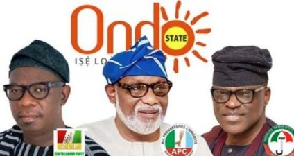 Ondo State 1.4m Voters To Pick Governor