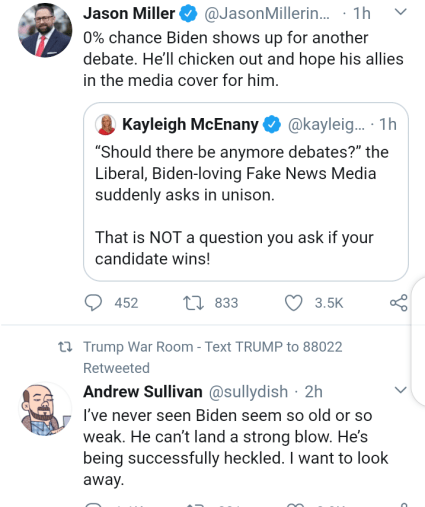President Trump And Joe Biden Insulted Each Other