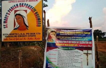 Youths Beat Catholic Priest For Flogging Councilor's Son In Ebonyi