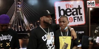 Davido Walks In To Surprise His Fan At Beat FM