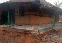 Unknown Persons Razed Oyo Oldest Police Station
