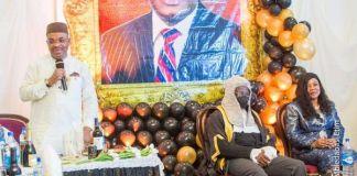 Gov Udom Felicitate With Barr Uwemedimo Nwoko On The Rank Of SAN