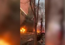 Watch The Moment Van Exploded Leaving Many Injured In Nashville, United States
