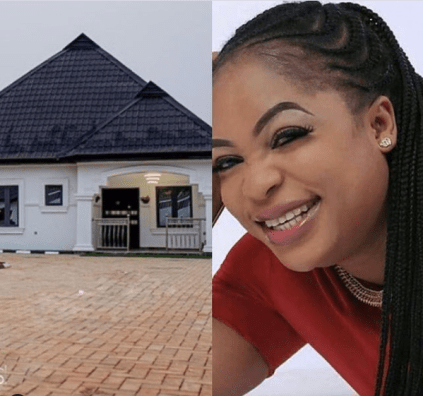 Actress Kemi Afolabi Unveils New House