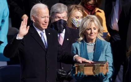Biden Sworn In 46th United States President