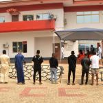 EFCC Arrests 11 Suspected Yahoo Boys With 12 Cars
