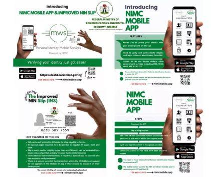 Federal Govt Launches Improved NIN Slip, Mobile App