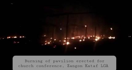 Hoodlums Burn Down Church Pavilion In Kaduna