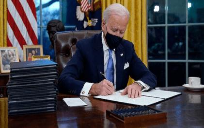 President Biden Resumes At Oval Office