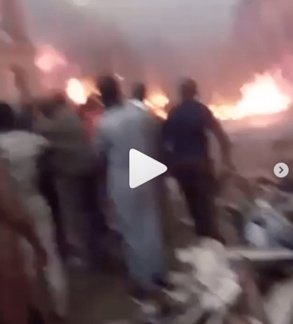 Sokoto Central Market Gutted By Fire