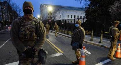 United States On Alert For Armed Protest Over Biden's Inauguration