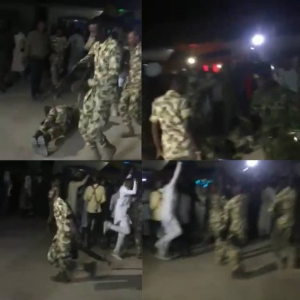 Watch Video As Soldiers Rejoice Over Buratai's Removal As Chief Of Army Staff