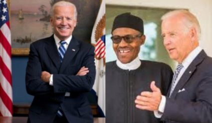 We're looking forward to working with Biden and Harris - President Buhari