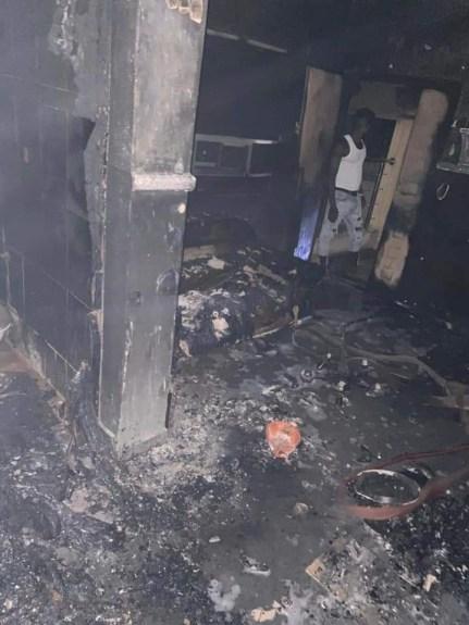 Yoruba Activist Sunday Igboho's House Razed