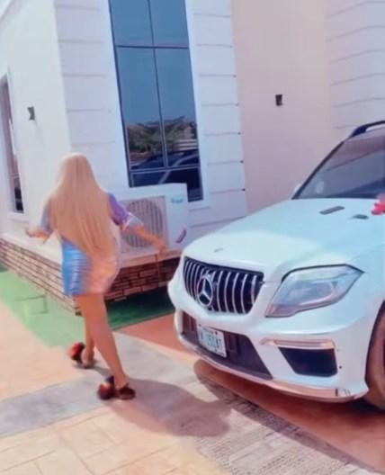 Actress Destiny Etiko Shows Off Her Newest Car