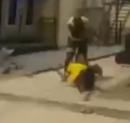 Businessman Caught On Camera Beating A Cleaner After She Asked For Half Of Her Pay