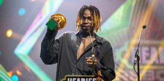 Complete List Of Winners At The 14th Headies Awards