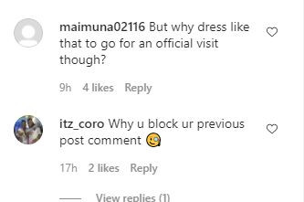 Destiny Etiko Blasted For Outfit She Wore To Visit Gov Yahaya Bello