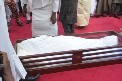 Ex-Lagos governor, Lateef Jakande, laid to rest