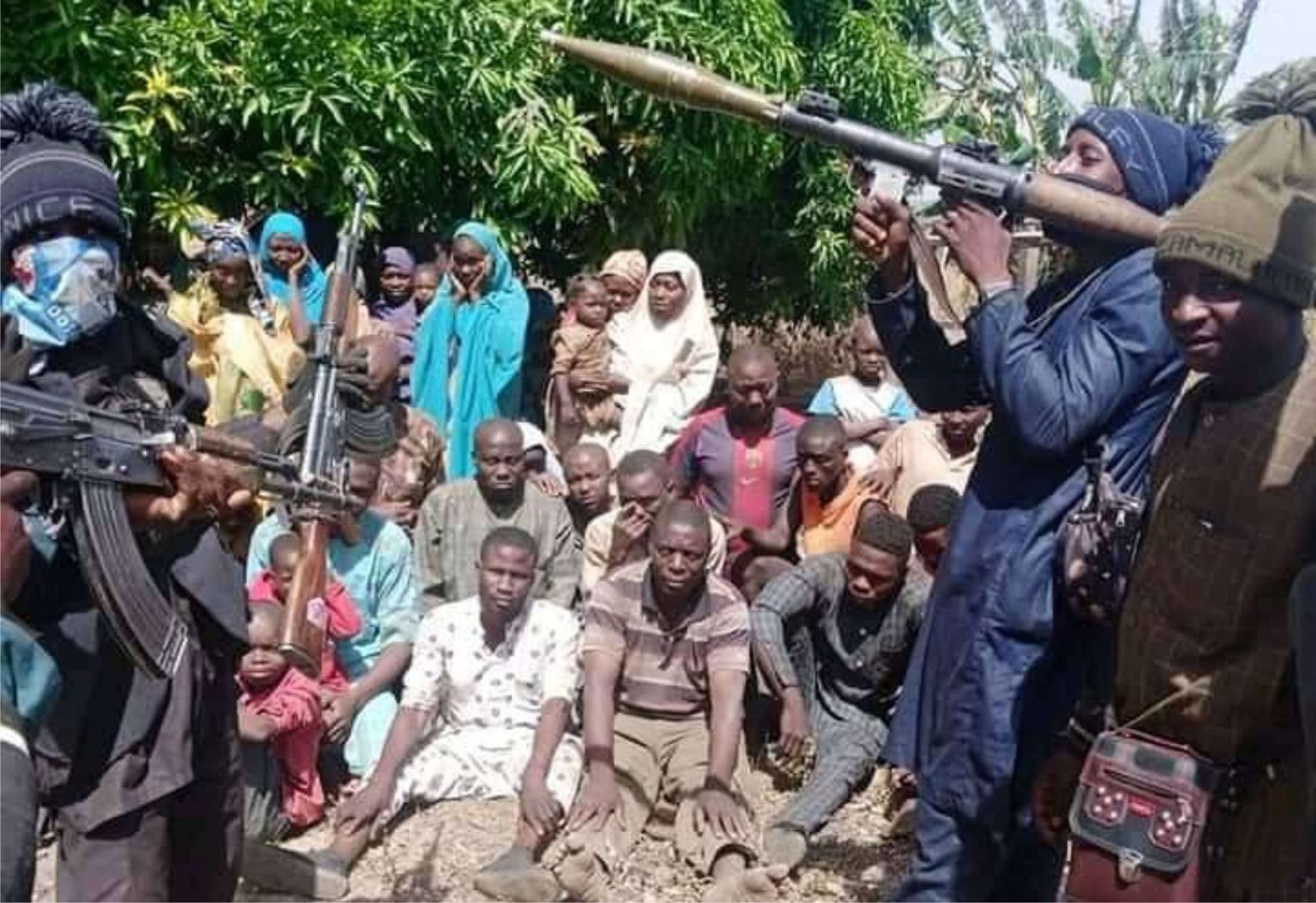 Image result for Nigerian government may swap kidnaped Kagara schoolchildren for arrested bandits