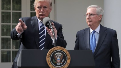 'He Is A Dour, Sullen, Unsmiling Political Hack' - Trump Rips Mitch McConnell In New Statement