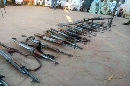 Mastermind Of Kankara Schoolboys Abduction Repents, Surrenders His Rifles To Zamfara State Govt