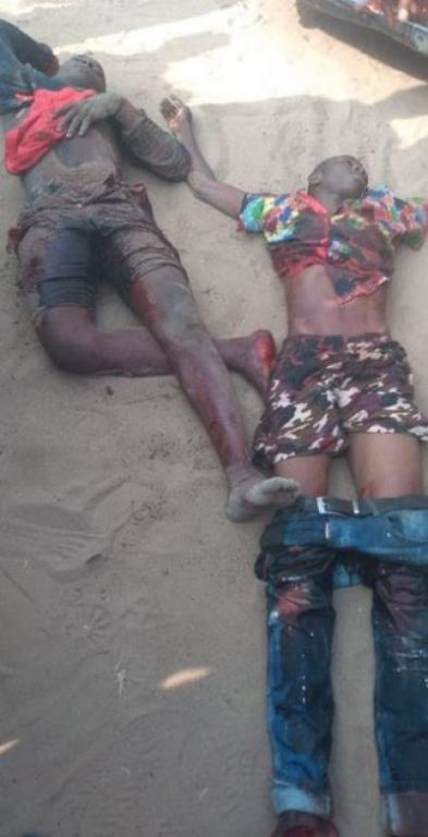 Police Kill Two Notorious Armed Robbers In Gun Combat