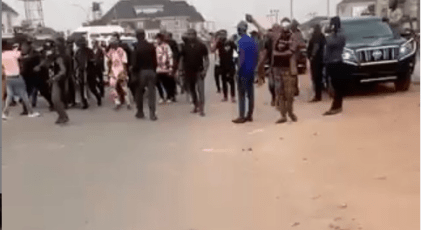 Rochas Okorocha's Aide Assaulted By One Of Imo State Taskforce Officials