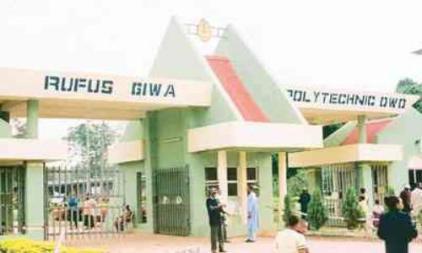 Rufus Giwa Polytechnic SUG Election