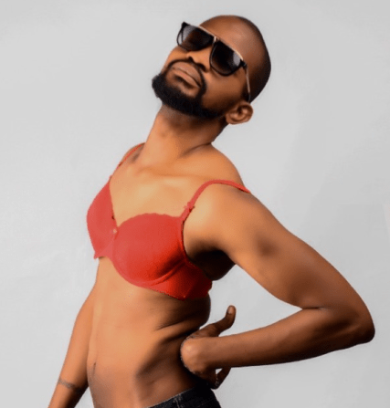 See Photo As Actor Uche Maduagwu Shares Photo Of Himself In Bra Days After Coming Out As Gay