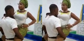 See What A Man Was Caught Doing In The Church With His Girlfriend