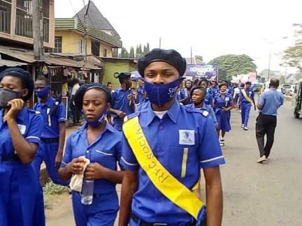 Students Of Rochas Okorocha's School Protest