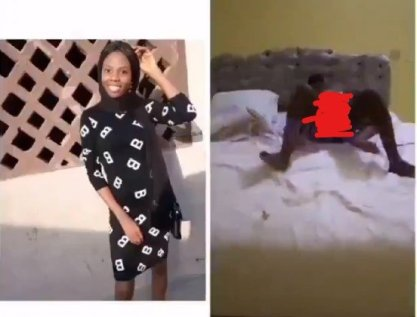 Watch LAUTECH Female Student Bedroom Video Where She Serviced Two Guys