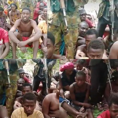 Abductors Of Kaduna Students Release Video Of Them In Captivity, Demand N500m For Their Release