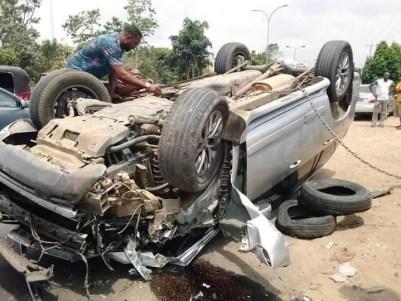 Akwa Ibom Pastor Survives Ghastly Motor Accident