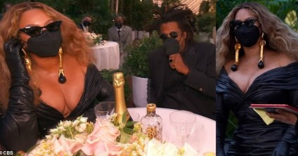Beautiful Photos Of Beyonce And Jay-Z At The 63rd Grammy Awards