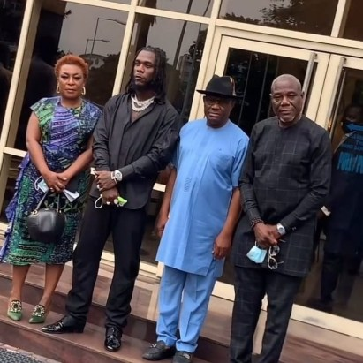 Burna Boy Is A Pride Of Rivers state - Gov Wike