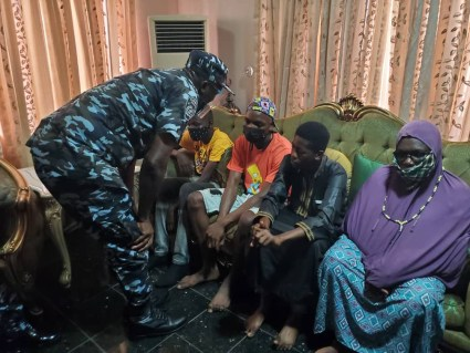 Lagos Police Commissioner Visits Family Of Man Shot Dead By Police Officer