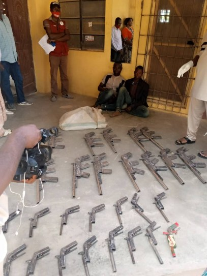 NDLEA Recovers 27 Rifles From Criminals In Niger State