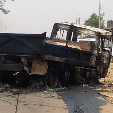 See Photos As 4 Secondary School Students Are Crushed To Death In Ibadan