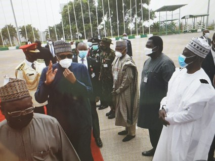 See The Moment President Buhari Departed Nigeria For UK